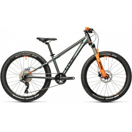 Велосипед детский CUBE REACTION 240 TM flashgrey´n´orange