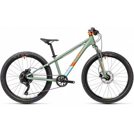 Велосипед детский CUBE ACID 240 DISC green´n´orange