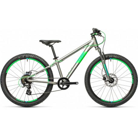 Велосипед детский CUBE ACID 240 DISC grey´n´neongreen
