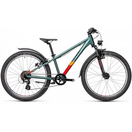 Велосипед детский CUBE ACID 240 ALLROAD leaf´n´orange