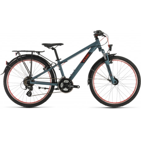 Велосипед детский CUBE ACID 240 STREET darkgrey´n´red