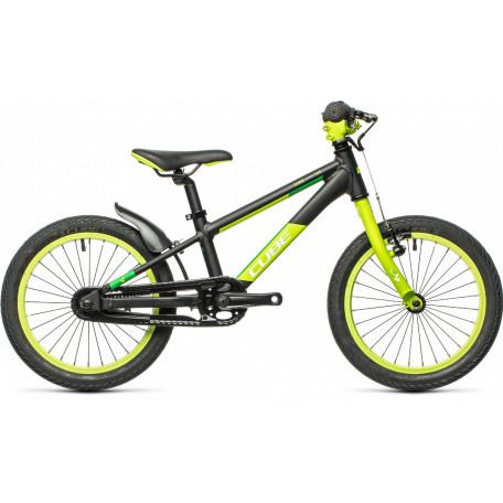 Велосипед детский CUBE CUBIE 160 black´n´green
