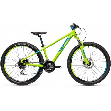 Велосипед детский CUBE ACID 260 DISC green´n´blue