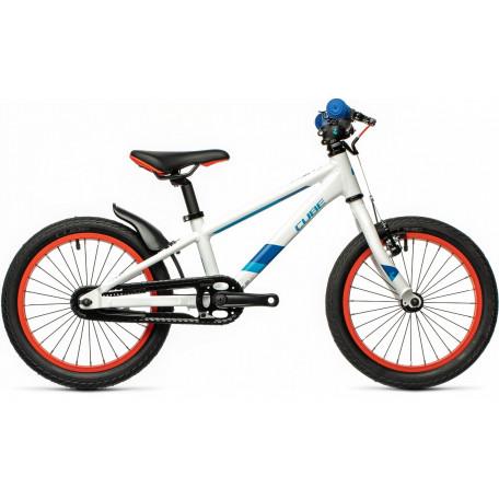 Велосипед детский CUBE CUBIE 160 white´n´blue