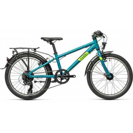 Велосипед детский CUBE KID 200 STREET petrol´n´green