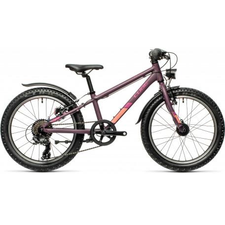 Велосипед детский CUBE ACID 200 ALLROAD purple´n´orange