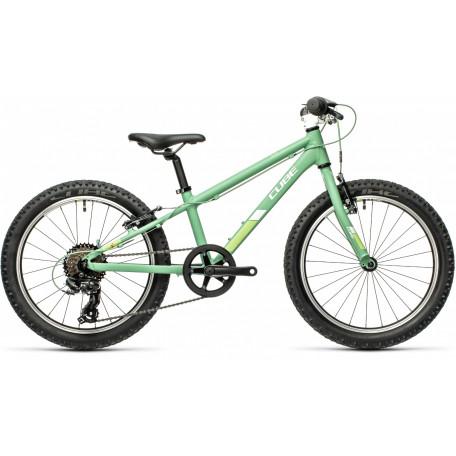 Велосипед детский CUBE ACID 200 green´n´white