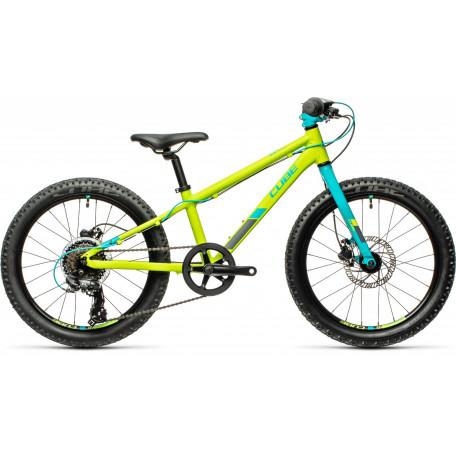 Велосипед детский CUBE ACID 200 DISC green´n´petrol