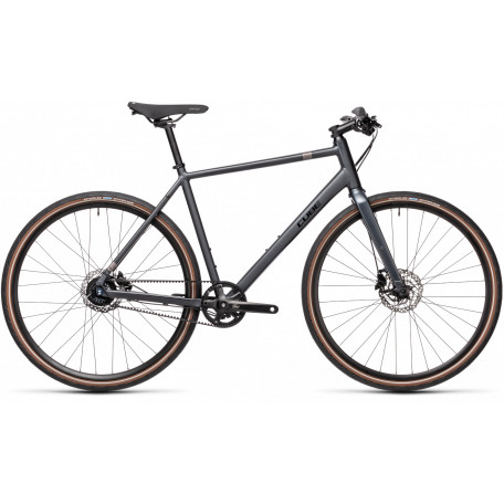 Велосипед туристический CUBE HYDE RACE iridium´n´black