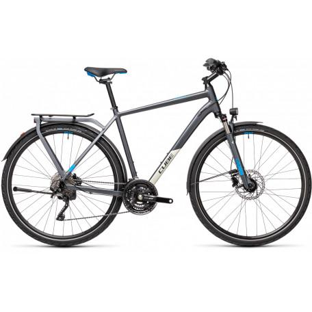 Велосипед туристический CUBE KATHMANDU EXC grey´n´blue