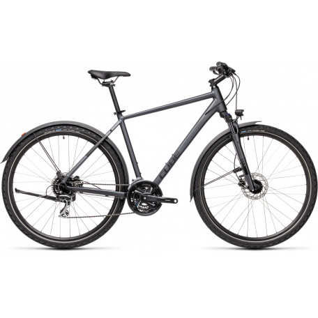 Велосипед туристический CUBE NATURE ALLROAD iridium´n´black