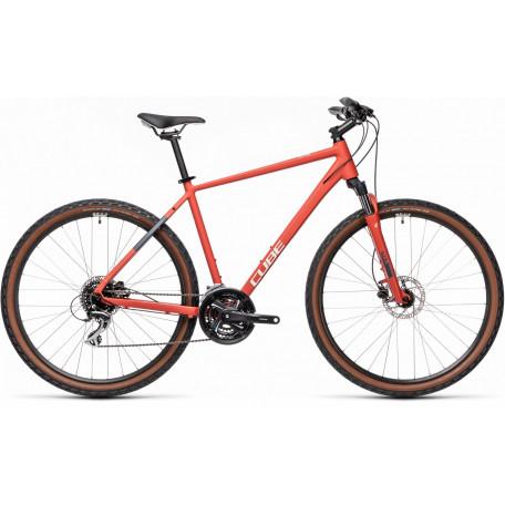 Велосипед туристический CUBE NATURE red´n´grey