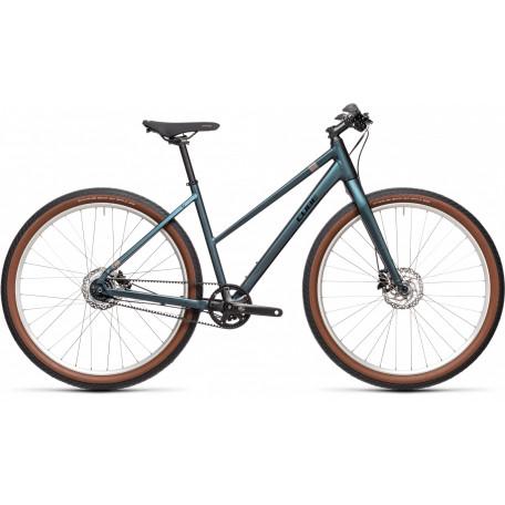 Велосипед туристический CUBE HYDE PRO deepblue´n´silver