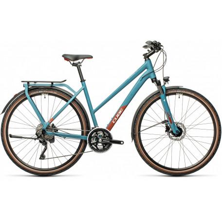 Велосипед туристический CUBE KATHMANDU PRO blue´n´red