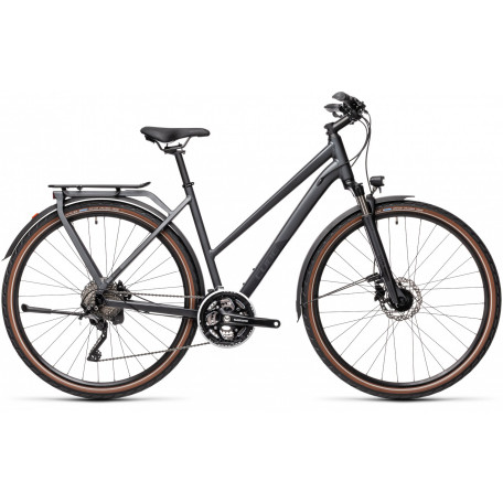 Велосипед туристический CUBE KATHMANDU PRO iridium´n´black