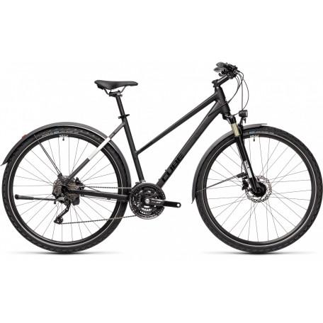 Велосипед туристический CUBE NATURE EXC ALLROAD black´n´grey