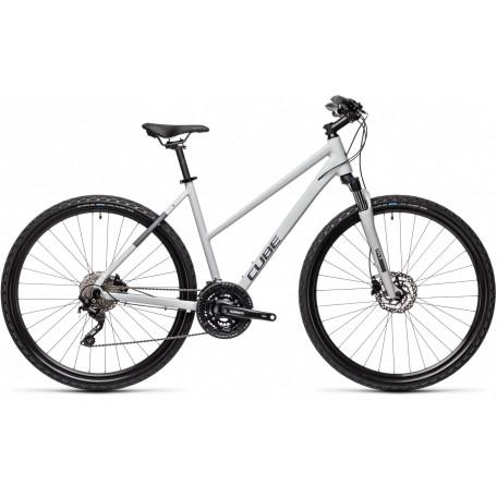 Велосипед туристический CUBE NATURE PRO grey´n´iridium