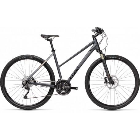 Велосипед туристический CUBE NATURE SL iridium´n´teak