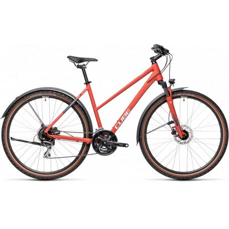 Велосипед туристический CUBE NATURE ALLROAD red´n´grey