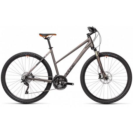 Велосипед туристический CUBE NATURE SL teak´n´orange