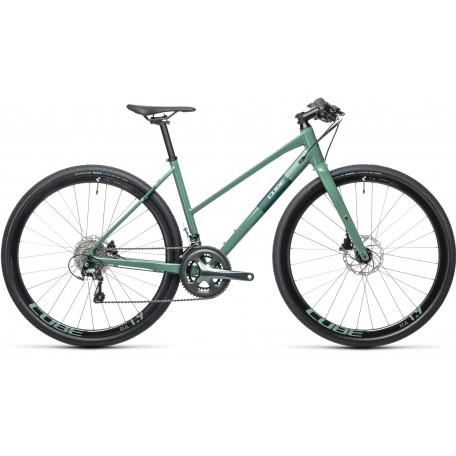 Велосипед туристический CUBE SL ROAD PRO greygreen´n´green