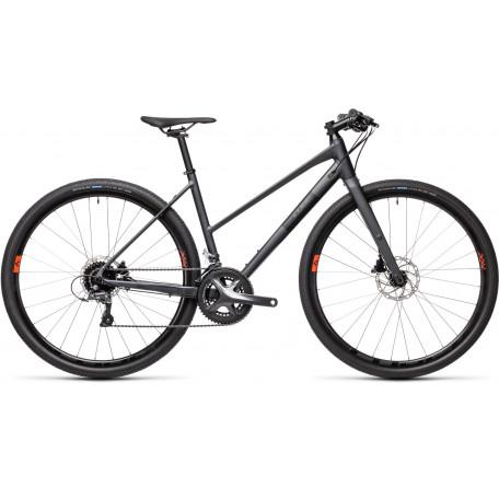 Велосипед туристический CUBE SL ROAD iridium´n´black
