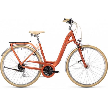 Велосипед туристический CUBE ELLA RIDE red´n´grey