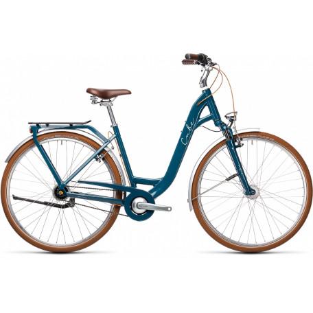 Велосипед туристический CUBE ELLA CRUISE petrol´n´grey
