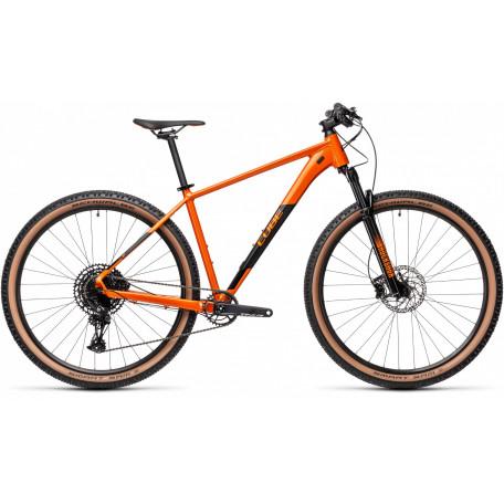 Велосипед хардтейл CUBE 2021 ACID ginger´n´black