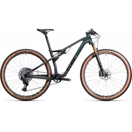 Велосипед двухподвесный CUBE 2021 AMS 100 C:68 SLT 29 carbon´n´prizmblack