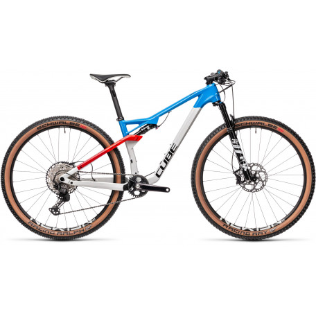Велосипед двухподвесный CUBE 2021 AMS 100 C:68 SL 29 teamline