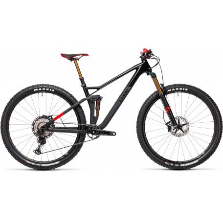 Велосипед двухподвесный CUBE 2021 STEREO 120 HPC SLT 29 carbon´n´red