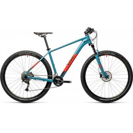 Велосипед хардтейл CUBE 2021 AIM EX blue´n´red