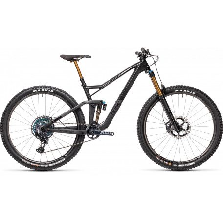Велосипед двухподвесный CUBE 2021 STEREO 150 C:68 SLT 29 carbon´n´black