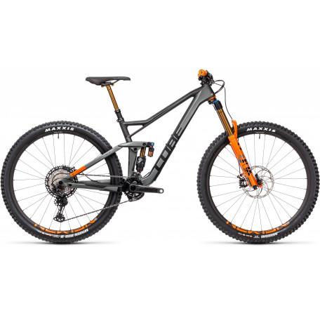 Велосипед двухподвесный CUBE 2021 STEREO 150 C:68 TM 29 flashgrey´n´orange