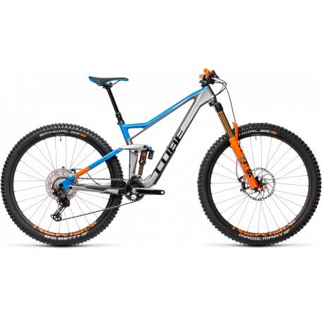 Велосипед двухподвесный CUBE 2021 STEREO 150 C:62 SL 29 actionteam