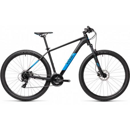 Велосипед хардтейл CUBE 2021 AIM PRO black´n´blue