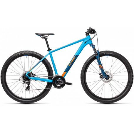 Велосипед хардтейл CUBE 2021 AIM blue´n´orange