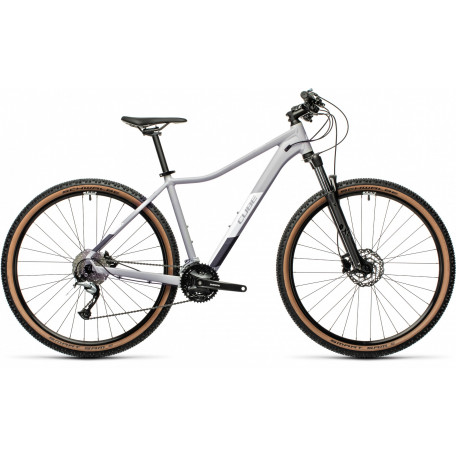 Велосипед двухподвесный женский CUBE ACCESS WS PRO grey´n´white
