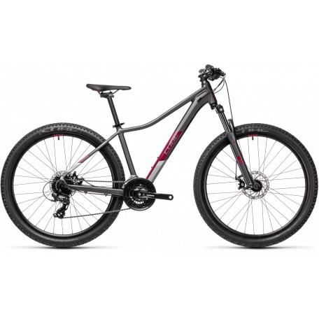Велосипед двухподвесный женский CUBE ACCESS WS grey´n´berry