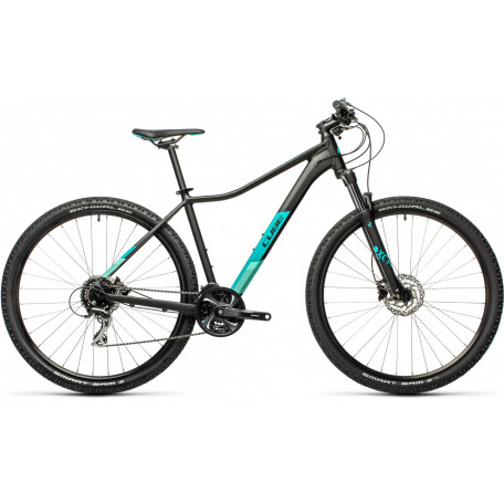 Велосипед двухподвесный женский CUBE ACCESS WS EXC black´n´blue