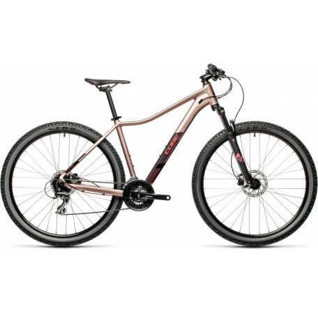Велосипед двухподвесный женский CUBE ACCESS WS EAZ blushmetallic´n´grey