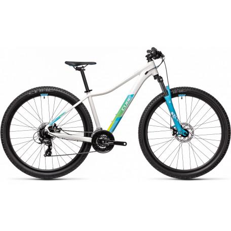 Велосипед двухподвесный женский CUBE ACCESS WS white´n´blue