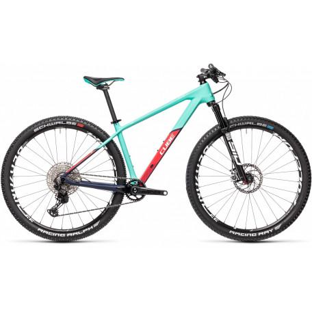 Велосипед двухподвесный женский CUBE ACCESS WS C:62 SL team ws