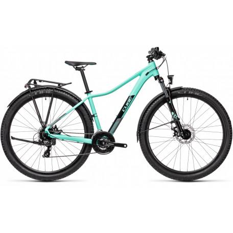 Велосипед двухподвесный женский CUBE ACCESS WS ALLROAD mint´n´black