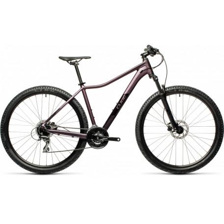 Велосипед двухподвесный женский CUBE ACCESS WS EAZ smokylilac´n´black